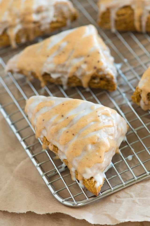 ... Pumpkin Scones Recipe That Were Inspired by Starbucks Pumpkin Scones