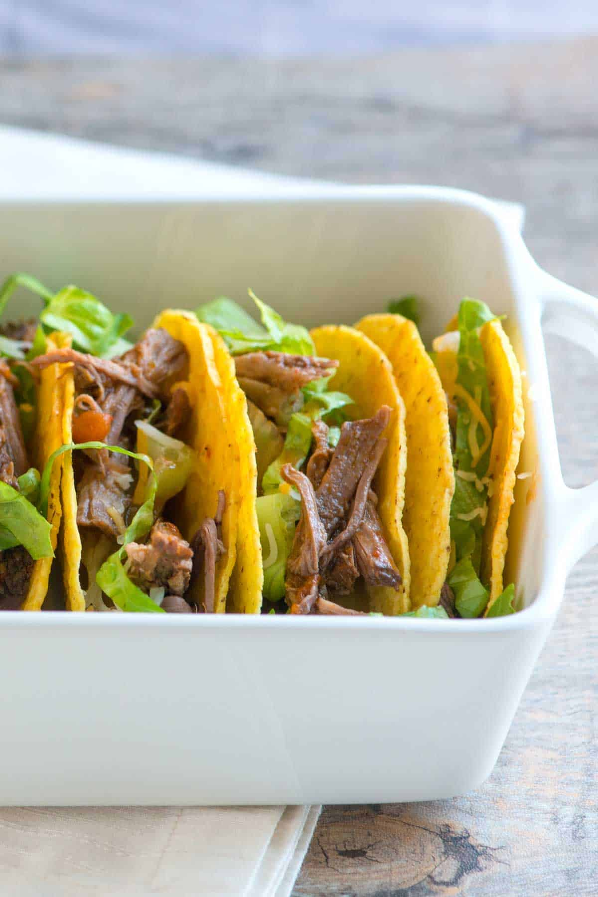 How to Make Fire Roasted Tomato and Beef Tacos in a Slow Cooker