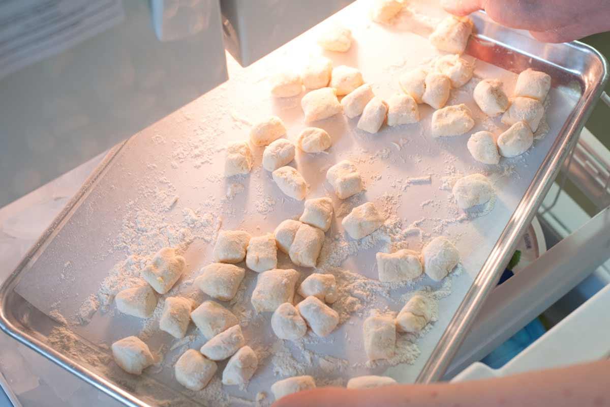 How to freeze gnocchi