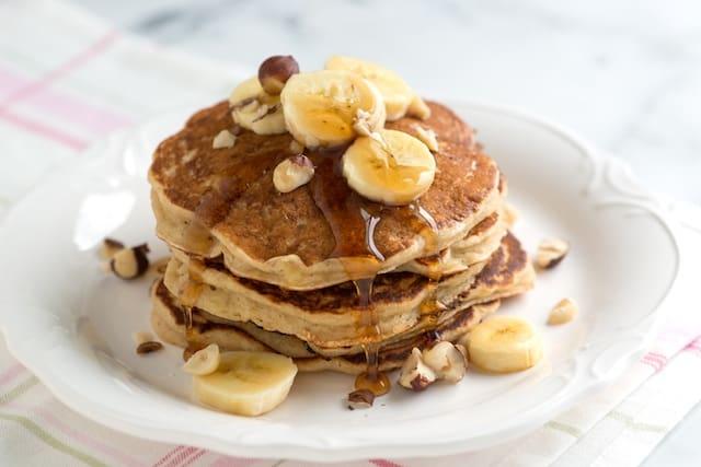 Spiced Buttermilk Banana Pancakes Recipe