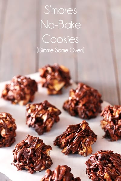 S'MORES NO-BAKE COOKIES