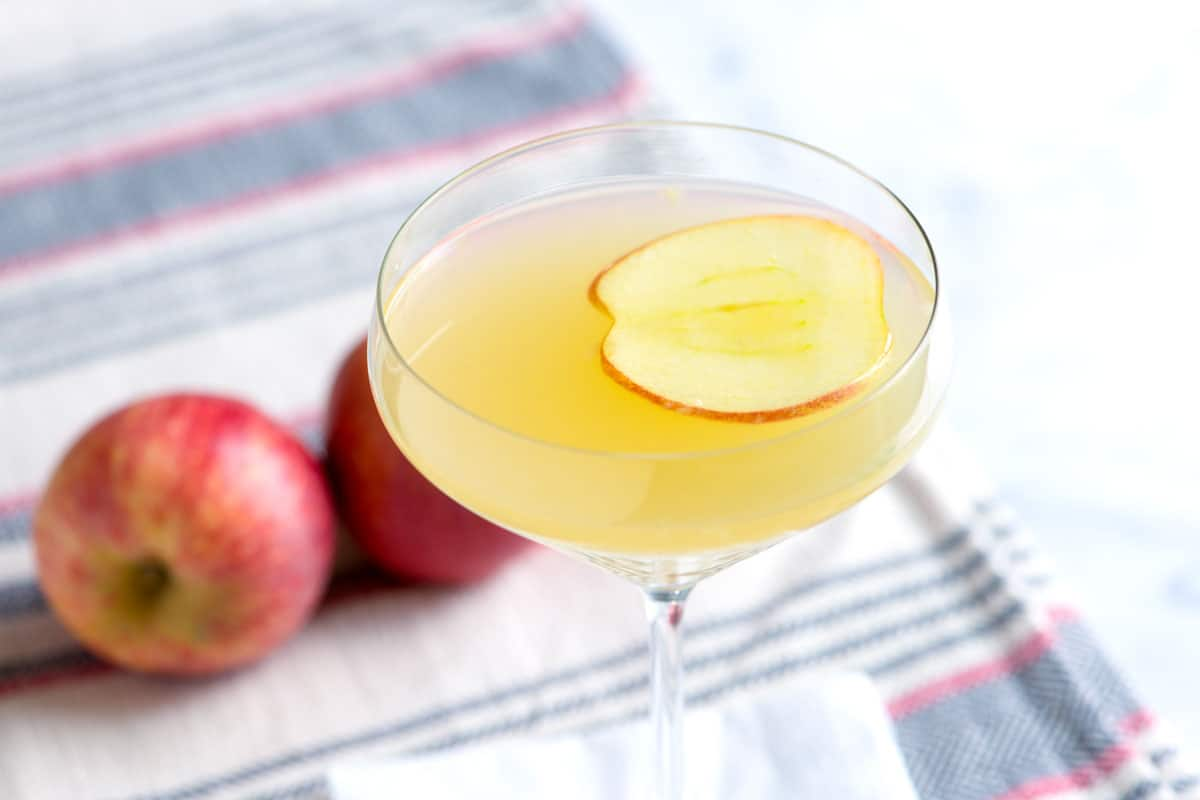 Apple Ginger Martini Recipe