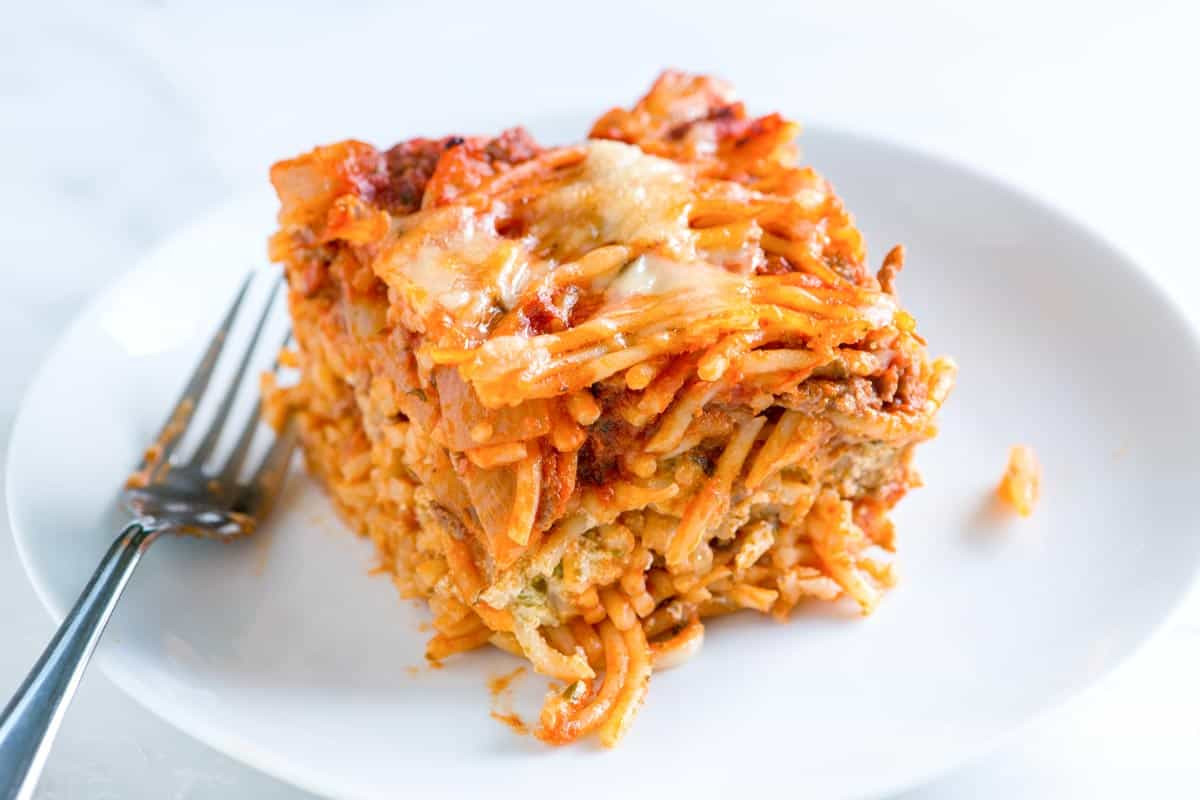 Ultimate Easy Baked Spaghetti Recipe