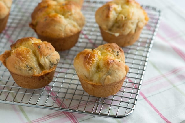 Rosemary Dinner Roll Recipe with Brie Cheese