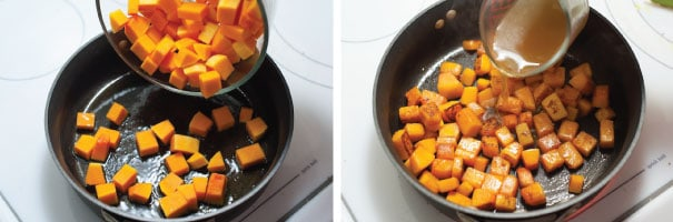 Butternut Squash and Pesto Pizza Recipe Step 1