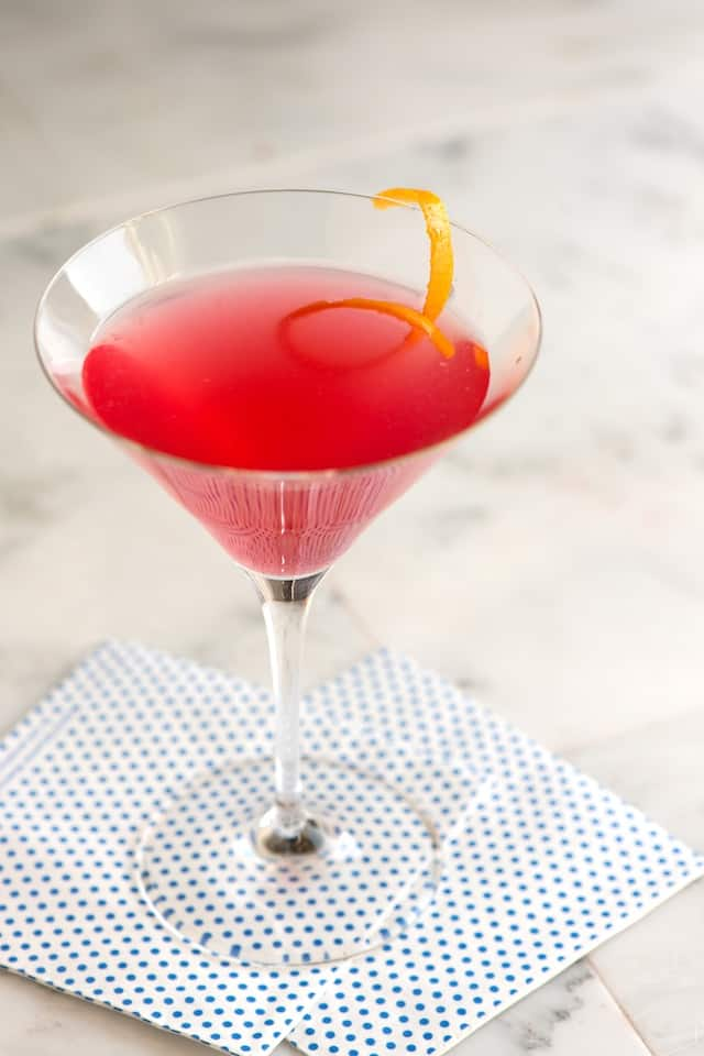 Perfect Cosmopolitan Cockail Recipe