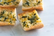 Basil and Cheese Garlic Bread Recipe