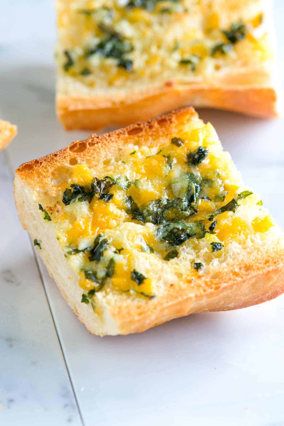How to Make Cheesy Garlic Bread from Scratch