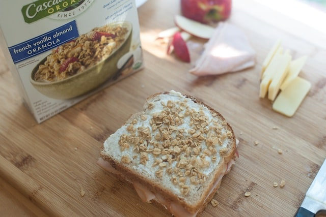 Granola Crusted Apple, Turkey and Cheddar Panini Recipe from www ...