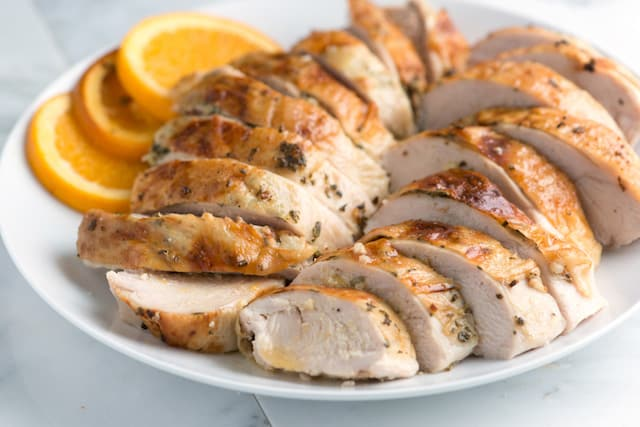 Orange and Herb Roasted Turkey Breast Recipe