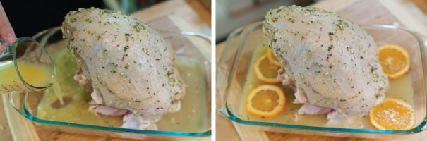 Roasted Rosemary Orange Turkey Breast Recipe Steps
