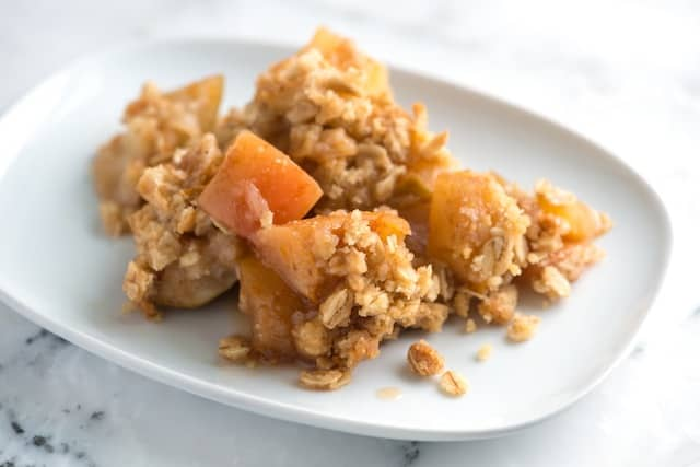 Apple Crisp Recipe with Oats