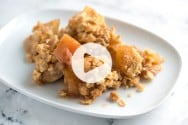 Apple Crisp Recipe with Oats Video