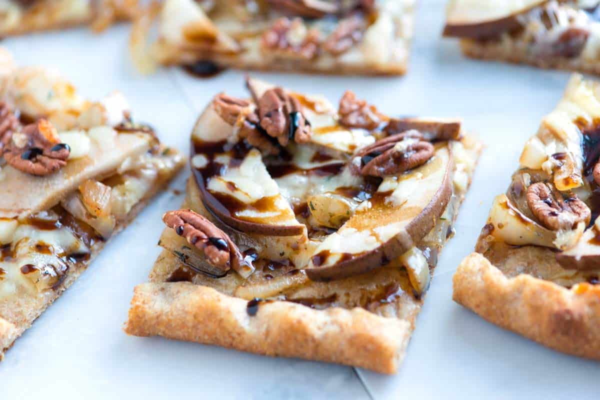 Balsamic, Pear and Onion Pizza Recipe