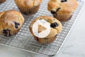 Blueberry Muffin Recipe Video