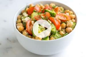 Chickpea Salad Recipe Video