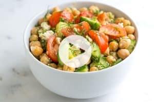 Chickpea Salad Recipe Video
