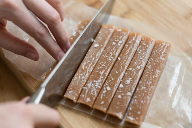 Covered caramels recipe step 21