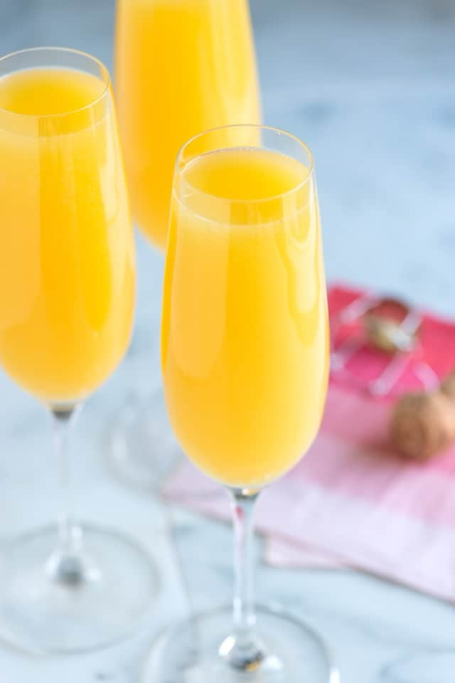 ... and video with tips for how to make the absolute best mimosa at home