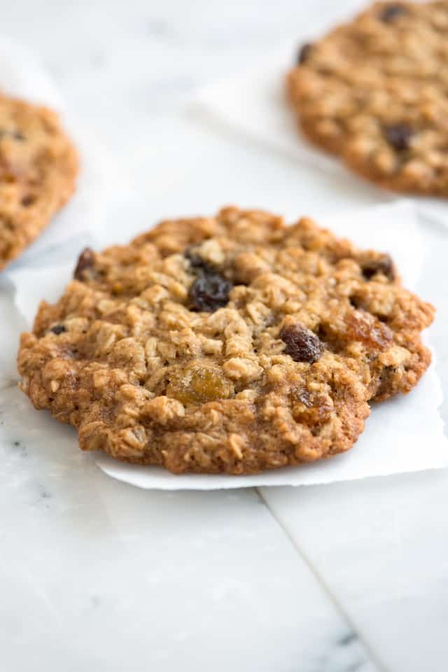 Soft and Chewy Oatmeal Raisin Cookie Recipe