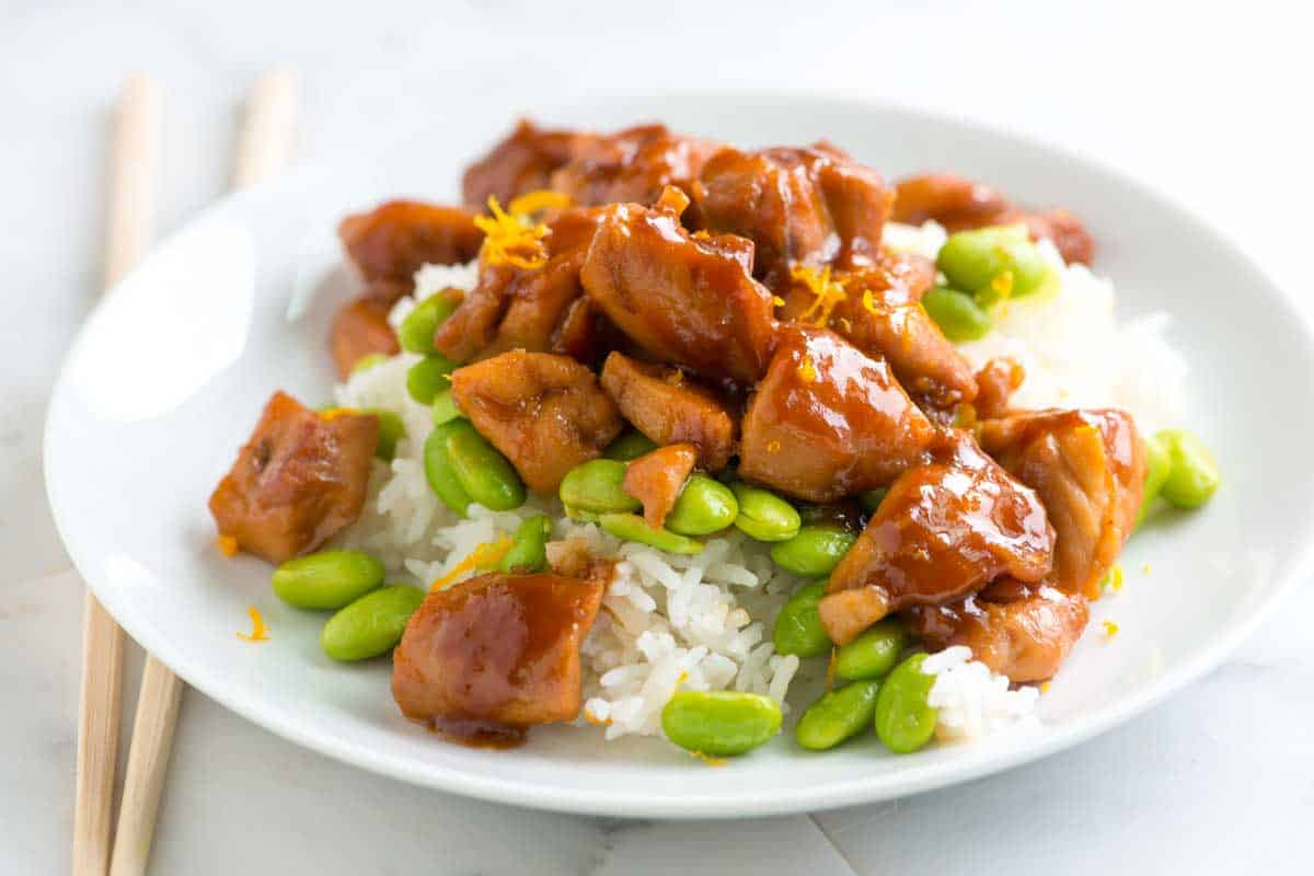 30 Minute Honey Ginger Teriyaki Chicken Recipe