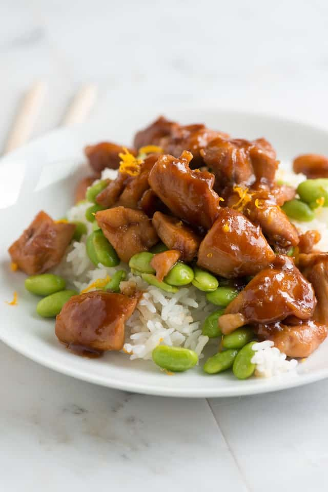 Orange Honey Teriyaki Chicken Recipe from www.inspiredtaste.net # ...
