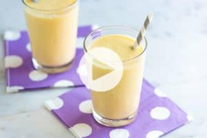 Banana Smoothie Recipe Video