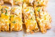 Buffalo Chicken Pizza Sticks Recipe