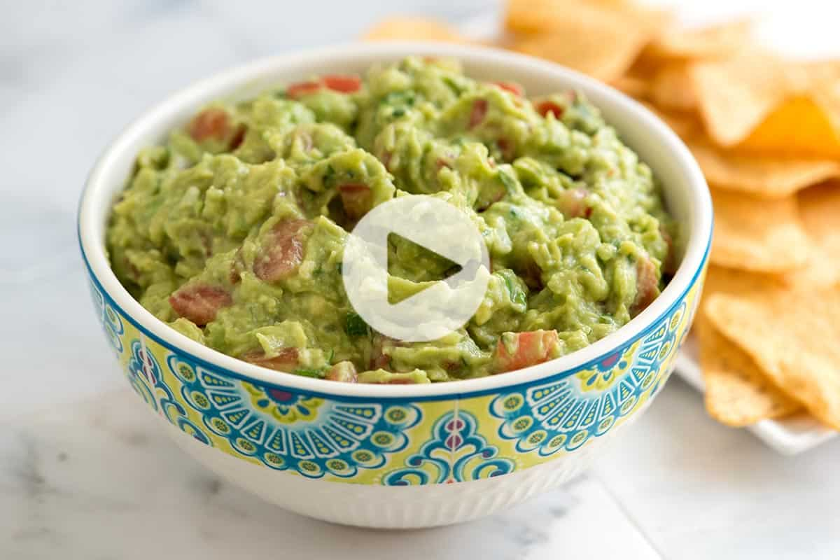 Easy homemade guacamole recipe forumfinder Image collections