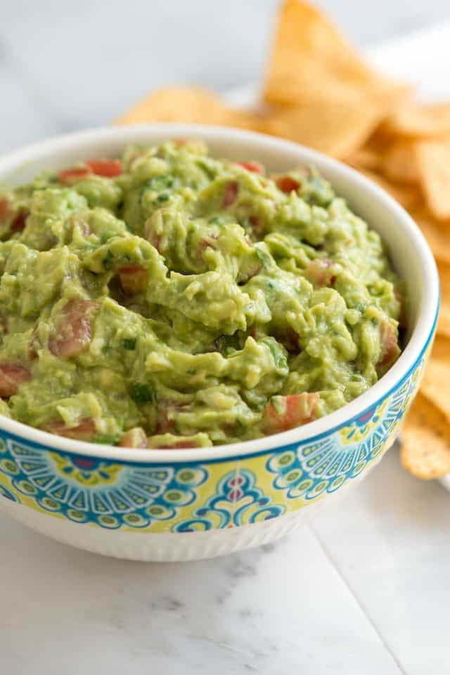 Our Favorite Guacamole Recipe with Video