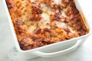 Sausage and Beef Lasagna Recipe