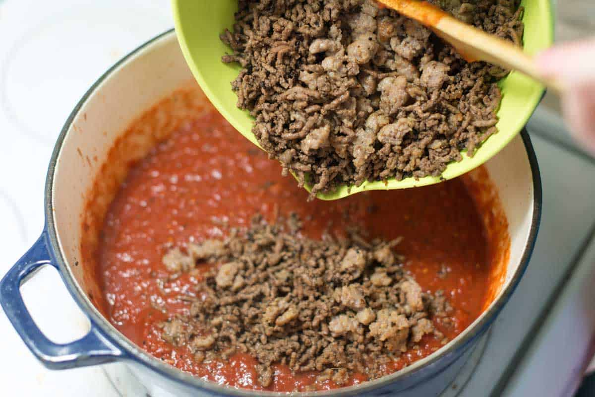 How to Make the Meat Sauce