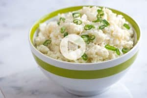 Easy Mashed Cauliflower Recipe