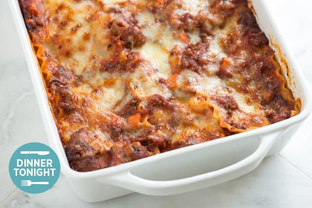 Meaty Lasagna Recipe