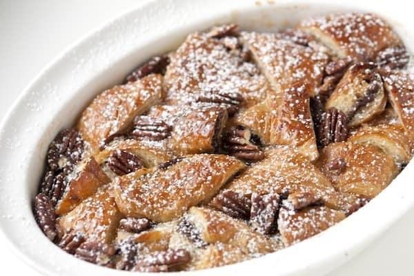 Nutella Bread Pudding Recipe