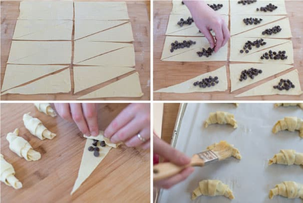 Sinfully Easy Chocolate Croissants Recipe Step-1