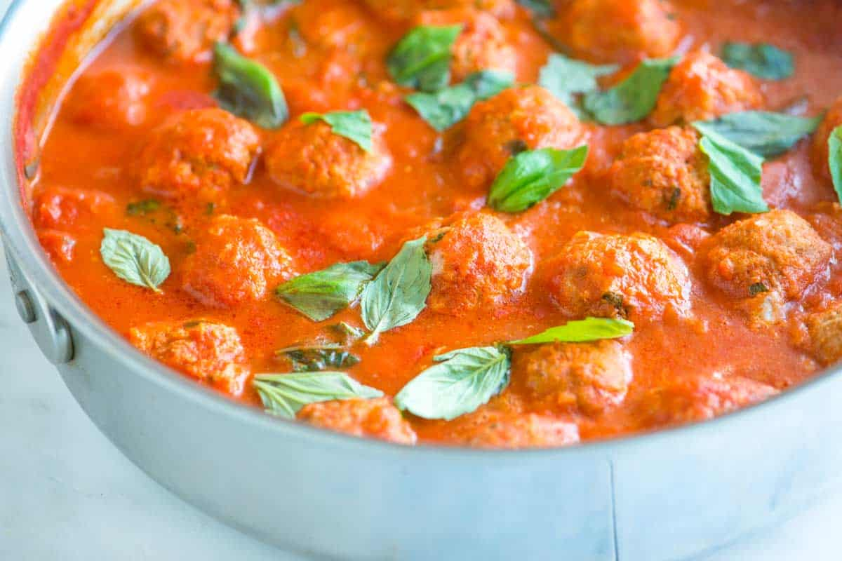 Tender Turkey Meatballs Recipe