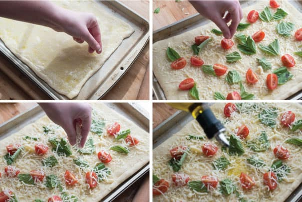 Tomato Basil Pizza Recipe with Sea Salt Step 1