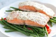Sour Cream Baked Salmon Recipe