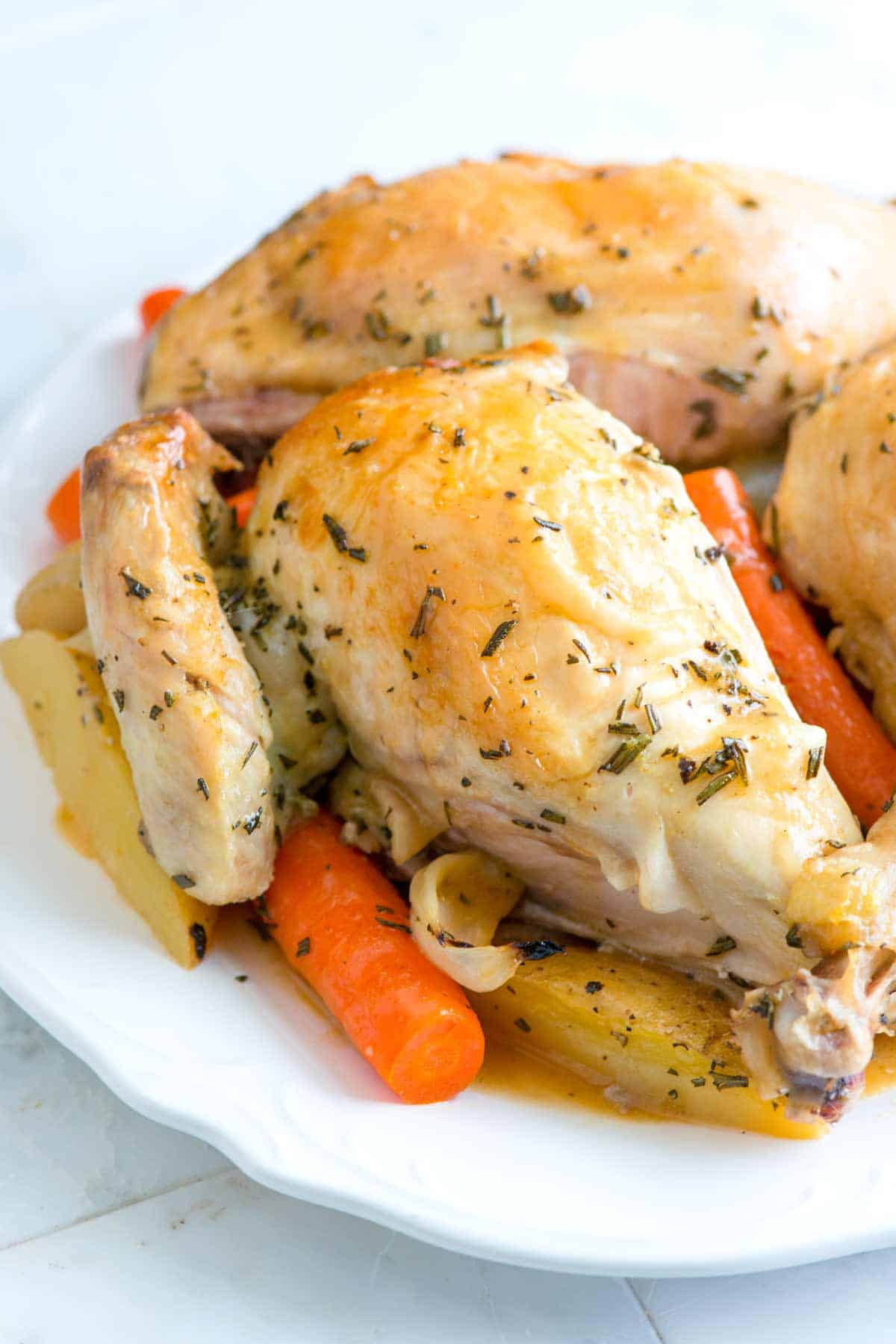 Rosemary Roasted Chicken with Vegetables