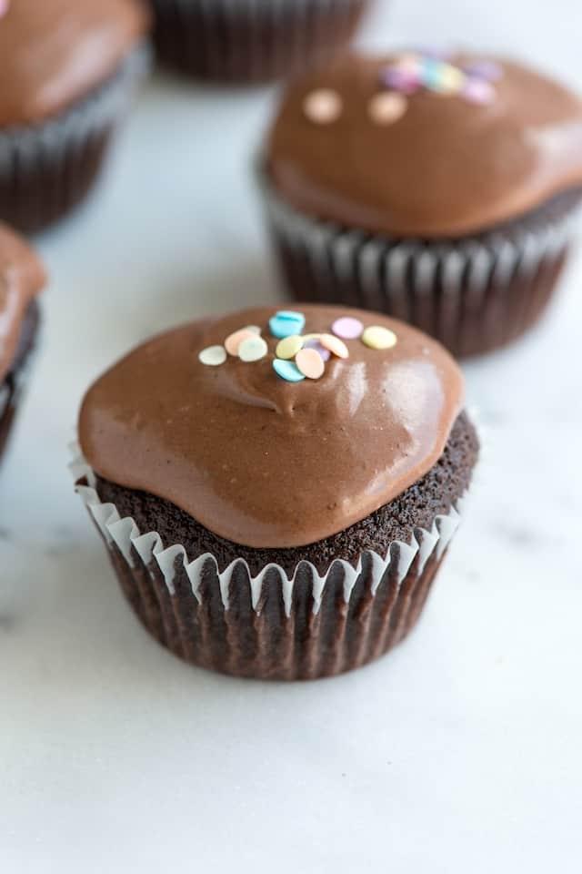 Double Chocolate Cupcake Recipe