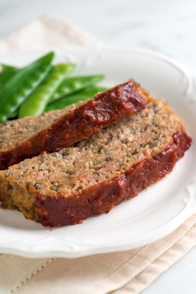 Tackle weeknight dinner with this easy to make Moist Turkey Meatloaf recipe.