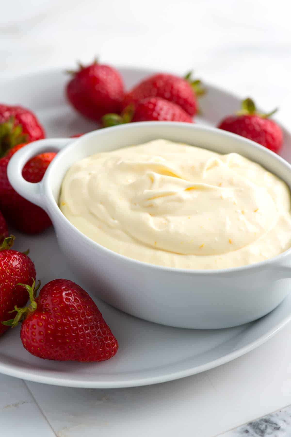 Making this fruit dip is almost cheating -- it's that easy.