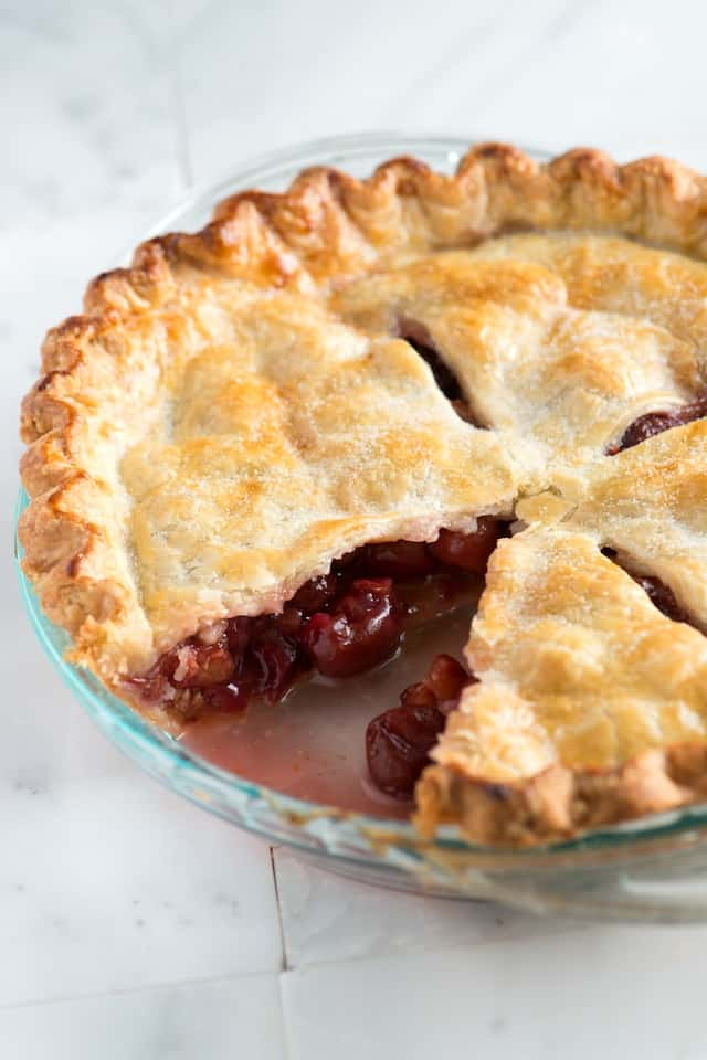 baked fresh cherry pie cherry pie recipe baked with fresh cherry pie 8 ...