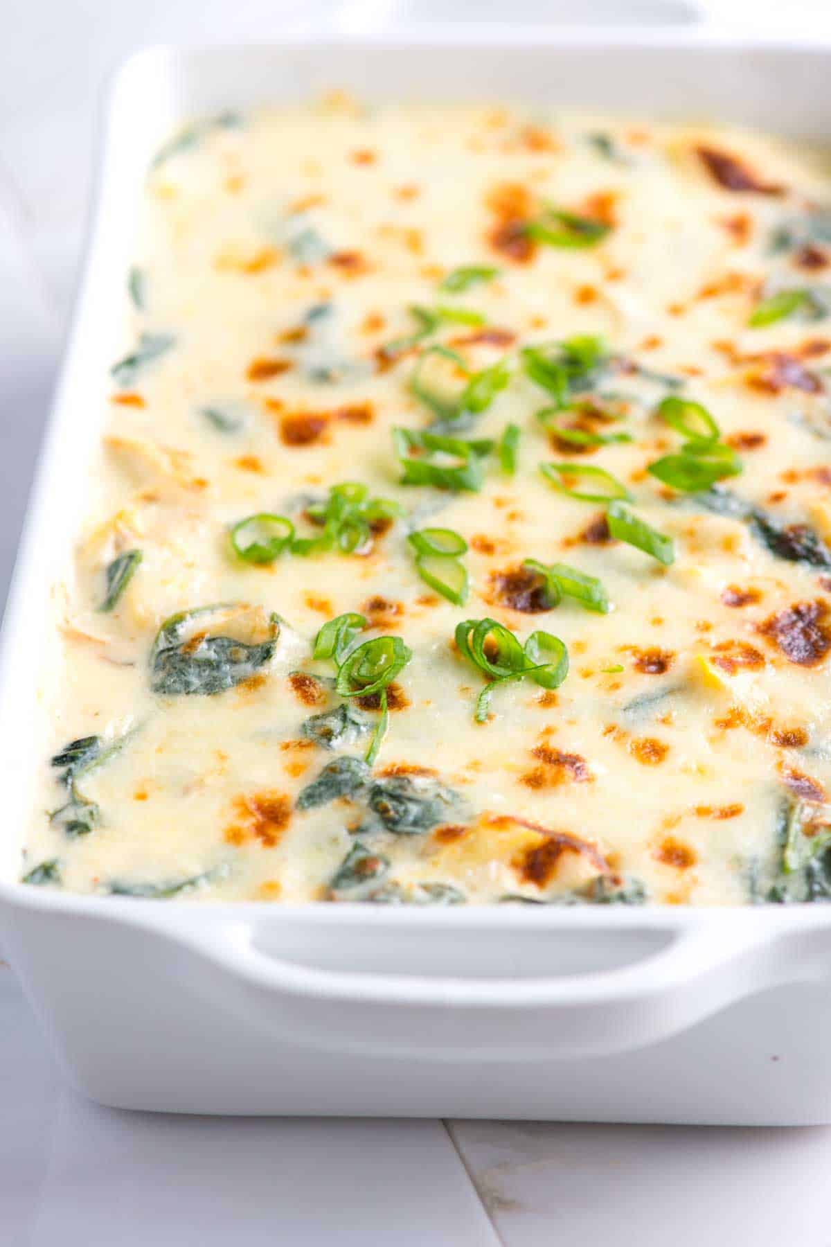 How to Make the Creamiest Spinach and Artichoke Dip