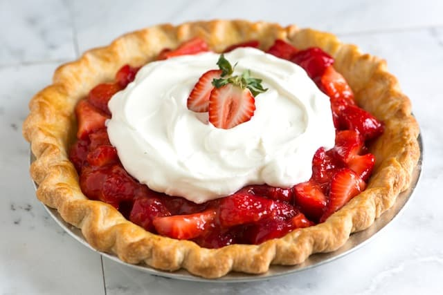 Simple Strawberry Pie Recipe