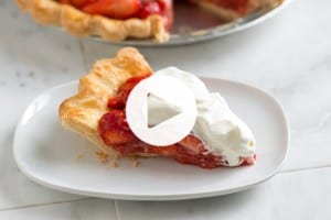 Strawberry Pie Recipe and Video