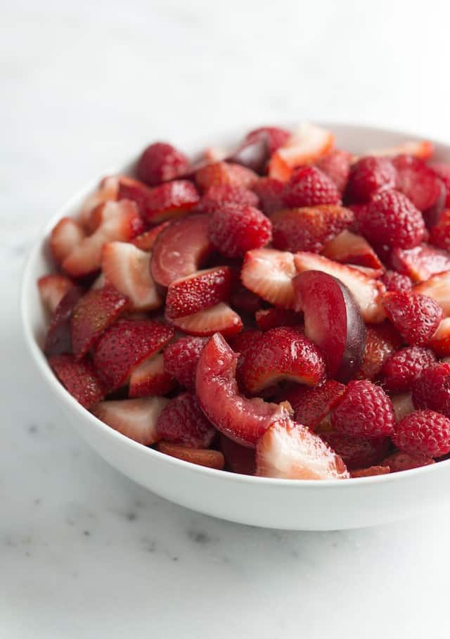 Red Fruit Salad Recipe