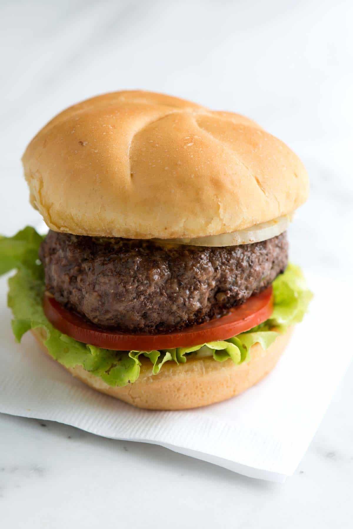 The Best No Fuss Burger Recipe