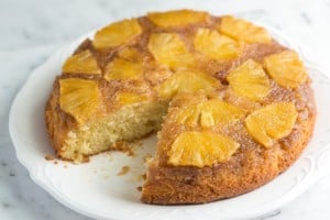 Pineapple Upside-Down Cake Recipe